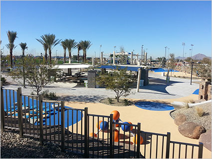 Concrete finishing parks for Az arredamenti san clemente